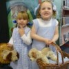 Ruby &amp; Gaby both dressed as Dorothy (with Toto) at Storytime