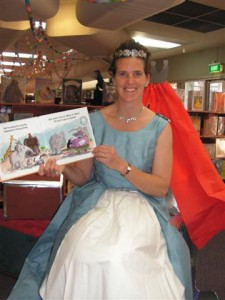 Storyteller Princess Fiona created a magical Storytime this week