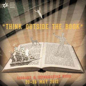 Library and Information Week - Think Outside the Book