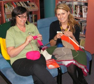 Knit a square for Wrap with Love Charity