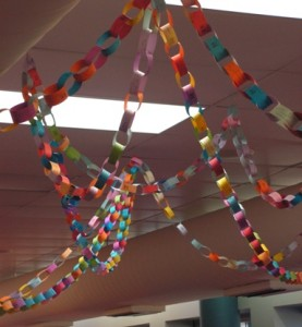Amazing Paper Chain keeps growing