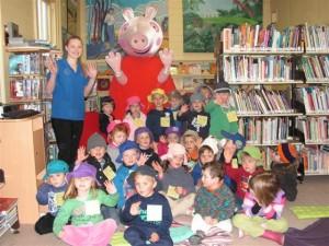 Children  Meet Peppa Pig at Molong Library