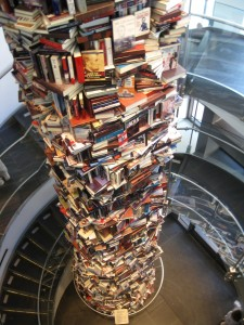That's stack of books