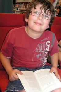 Max loves Harry Potter books