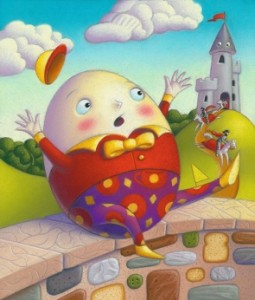 Humpty Dumpty had a great fall ... then what