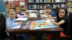 Creative writers in the Library