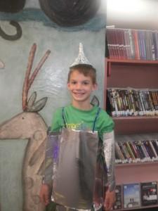 Tinman Sebastian at Storytime