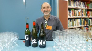 Justin Byrne of CSU Winery introduces the Letter Series