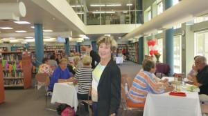 Judy at Literary Lunch Nov