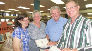 Louise, Joan, Barry and Tim Dean at the Michael Caulfield Book Launch (Small) (2)