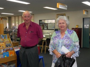 Ray Walsh and volunteer coordinator Bev Bundy