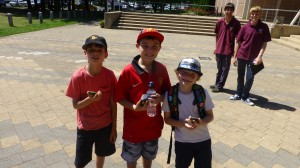 Ventures Lachlan and Jacob with spies Serb, Dylan and Liam use GPS to search for Freeda