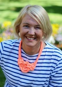 Local author Sophie Hansen