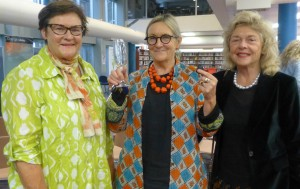 Libby, Fem and Kathy enjoyed the launch