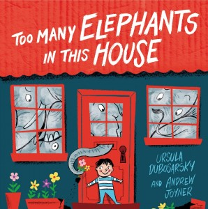 Too Many Elephants in this house cover