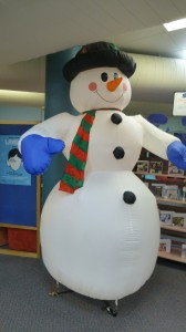 Frosty is happy with the news snow is on the way