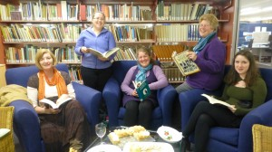 Pageturners take part in the Reading Hour