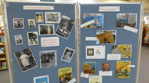 Can you match the Library yeam member to their childhood photo and book?
