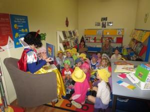 Canowindra Preschool visit the Library