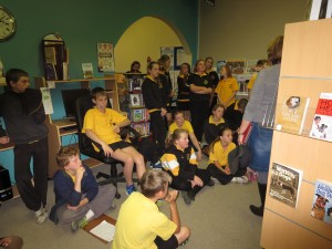 Canowindra Primary School Year 6 students discover Homework Help at the Library
