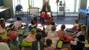 Pirate Storytime was a highlight last term