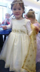 Princess Isabella enjoyed Storytime