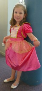 Princess Pearl at Storytime