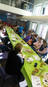 Weaving Workshop in the Library