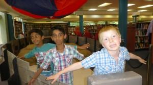 Krishan, Kajan and Andy test fly the airship