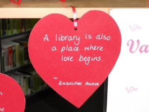 Valentine's Day + Library Lover's Day 003