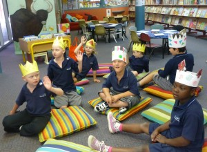 Princes and Princesses at Storytime