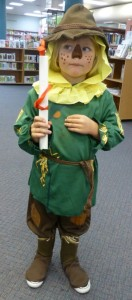 Charlie the Scarecrow at Storytime