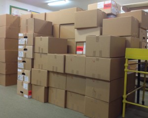 Wall of Boxes