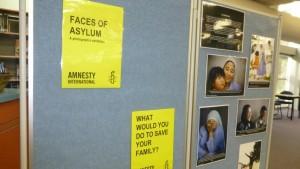 Faces of Asylum Display