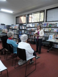 Soldiers in different armies Brenda Inglis-Powell author visit photos at Forbes Library 23 July 2015 p1