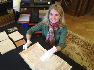 State Library of NSW WWI Curator Elise Edmonds