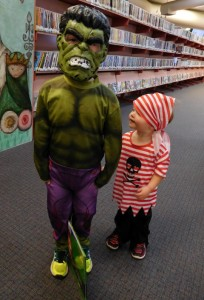Max The Hulk and Owen the Pirate