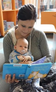 Reading to Child 2