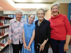 Beryl Floyd, Eva Green, Aileen Banfield and Bronwyn Norrie