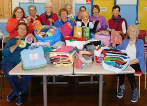 Molong Arthritis Group Donate Knitted Squares